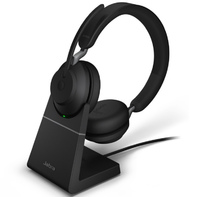 Jabra EVOLVE2 65 Link 380A UC Stereo stand Black